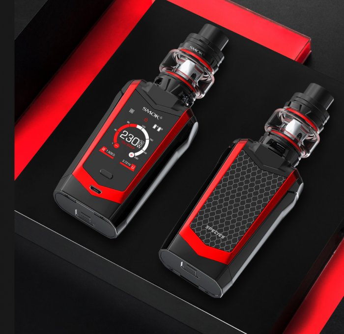Grip Smoktech Species TC230W Full Kit Black Red