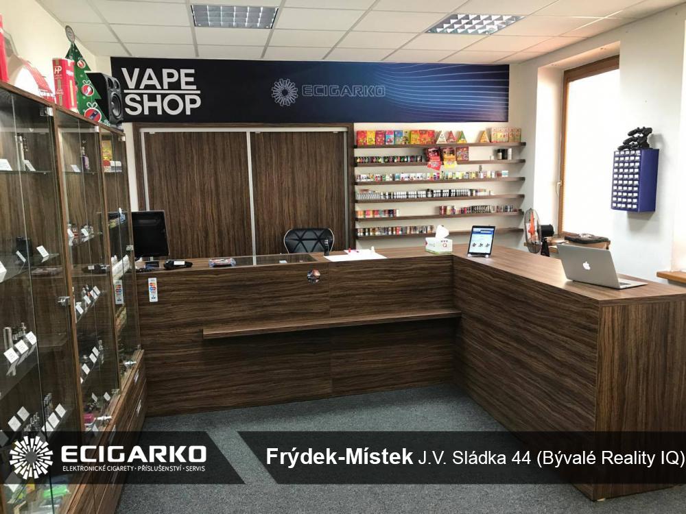 E-cigarko - prodejna v Místku