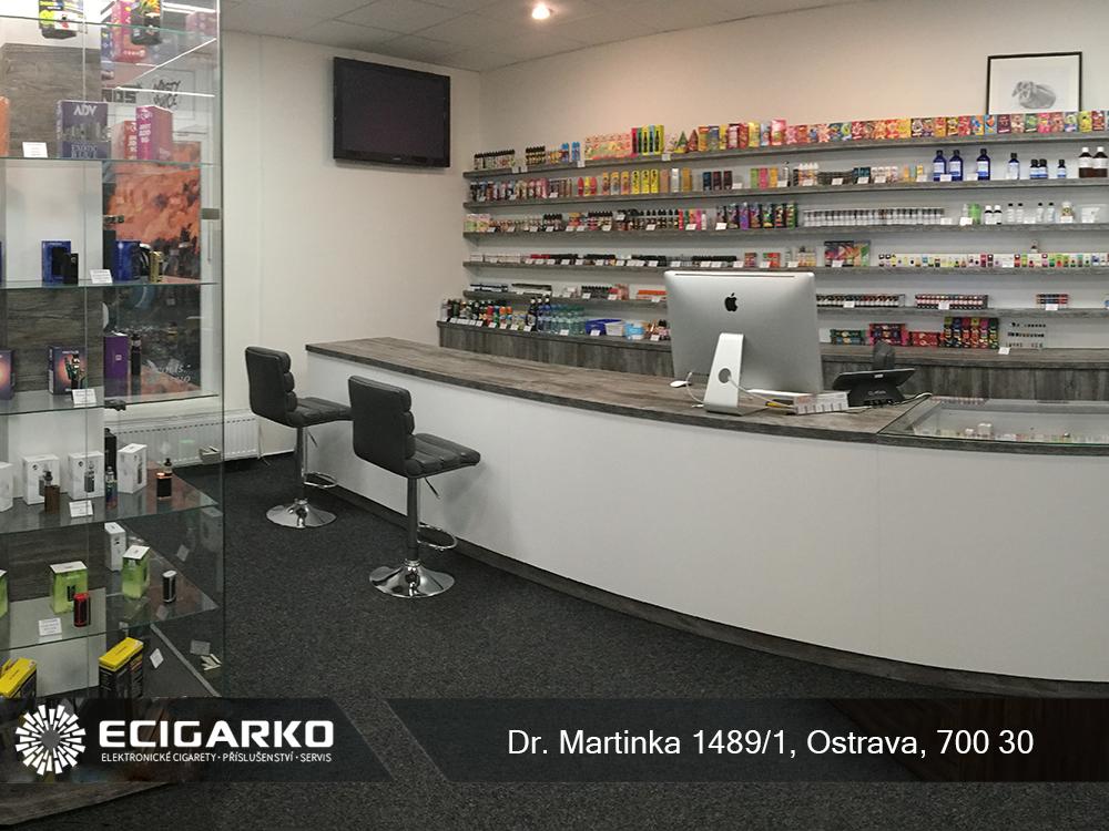 E-cigarko - prodejna v Ostravě