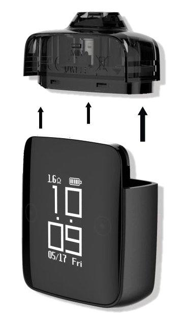 Uwell hodinky elektronická cigareta