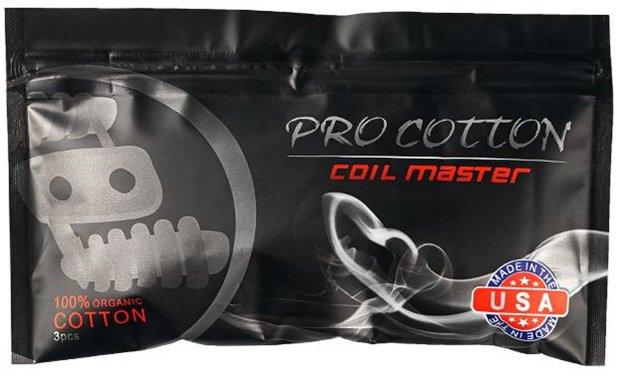 Organická bavlna Coil Master Pro