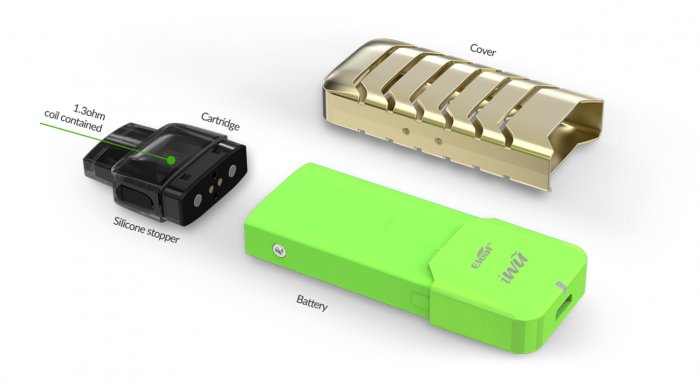 IWU elektronická cigareta